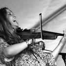 Happy Fiddler by Michael  Herrfurth