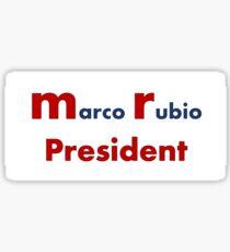 Pegatina Marco Rubio - MR Presidente