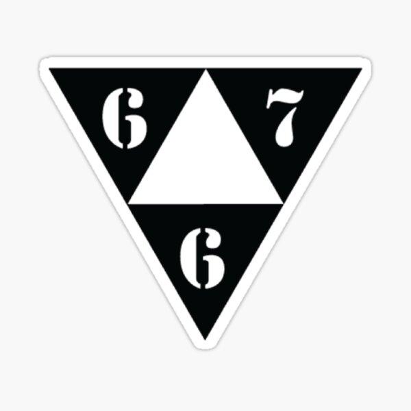 667 Sticker