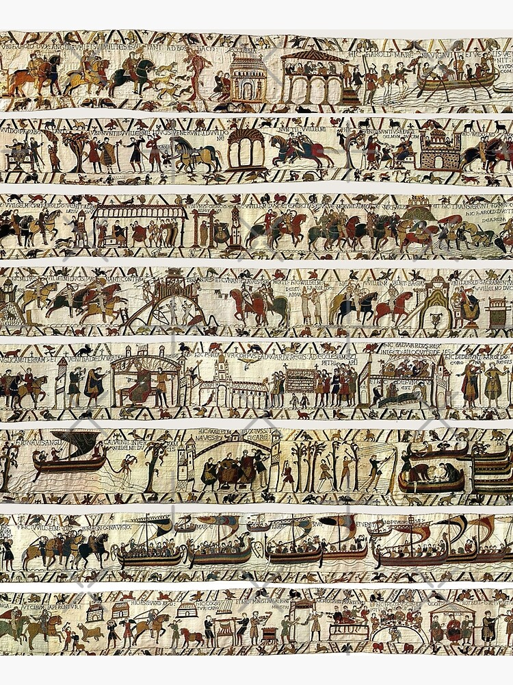 THE BAYEUX TAPESTRY by BulganLumini