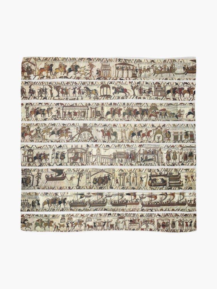 Alternate view of THE BAYEUX TAPESTRY Scarf