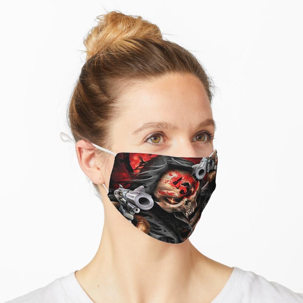 skull 2 design Mask