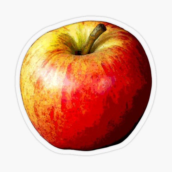 Apple Transparent Sticker