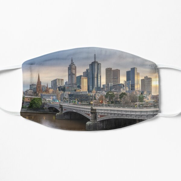 The City of Melbourne Flat Mask