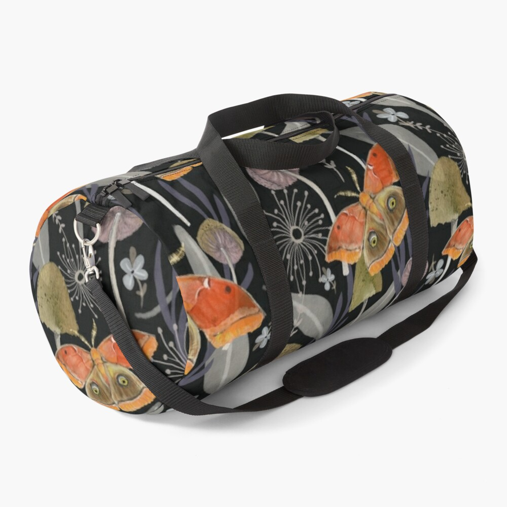 Midnight Moth Duffle Bag