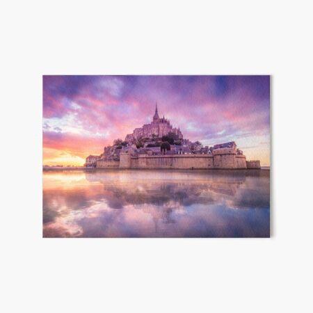 Mont St Michel Fantasy Art Board Print