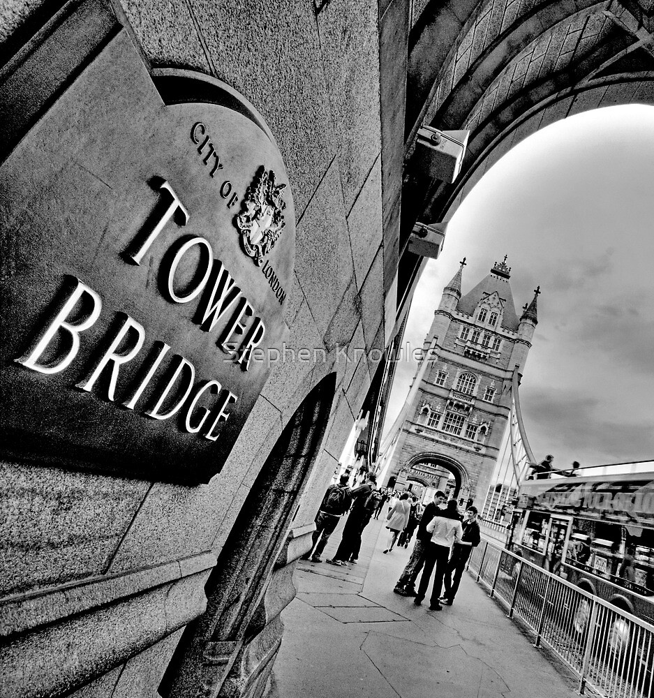 Tower Bridge (HDR) by Stephen Knowles