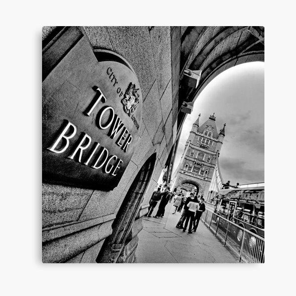 Tower Bridge (HDR) Canvas Print