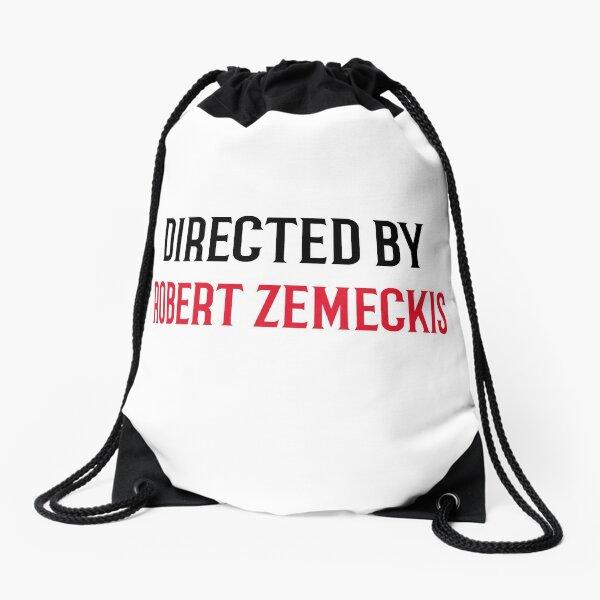 Directed By Robert Zemeckis Drawstring Bag
