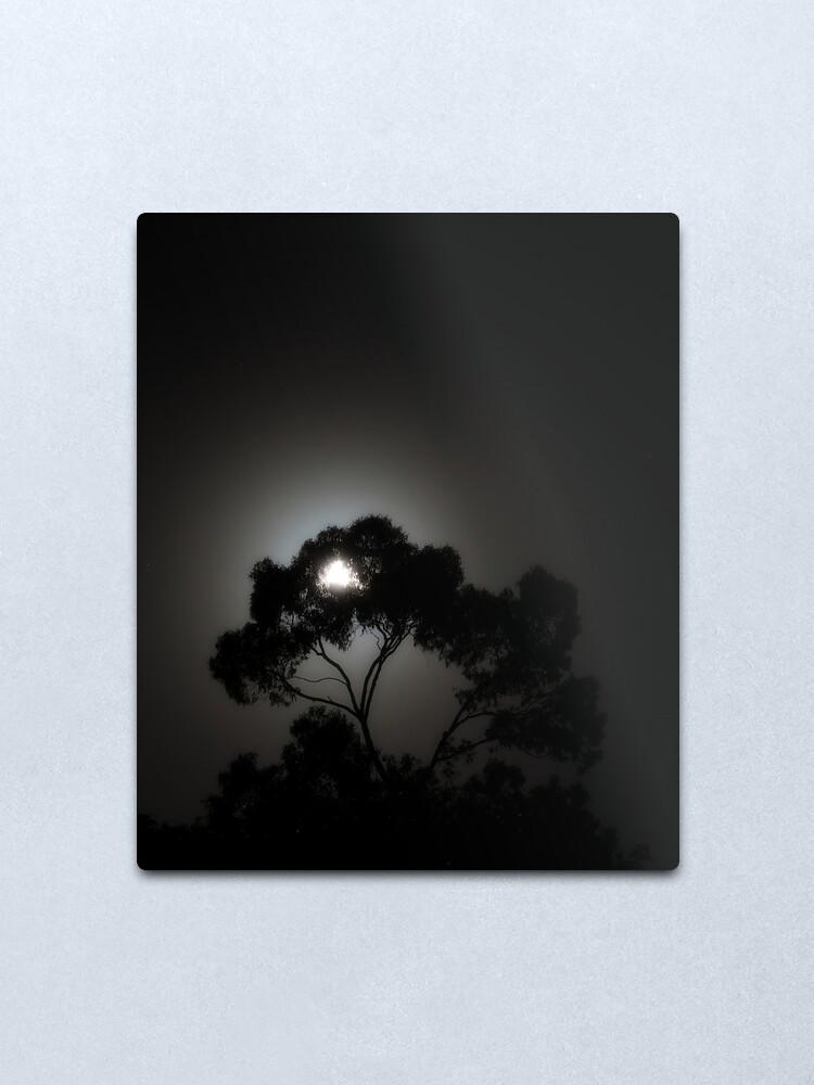 Alternate view of Arboreal Moonrise Metal Print