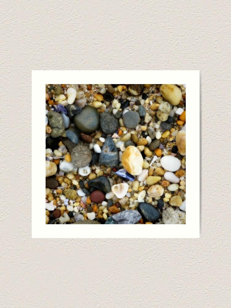 Alternate view of Wet pebbly beach Art Print