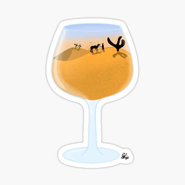 A 'Liquid' Desert Sticker