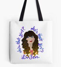 Jess - New Girl Tote Bag