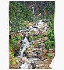 Ravana falls - Sri Lanka Poster