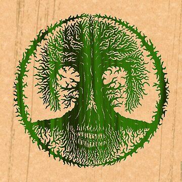 Skulltree, Tree of Life (romkaláh) by peterbarreda