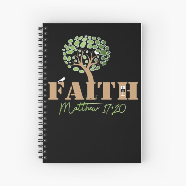 Faith of a Mustard Seed Spiral Notebook