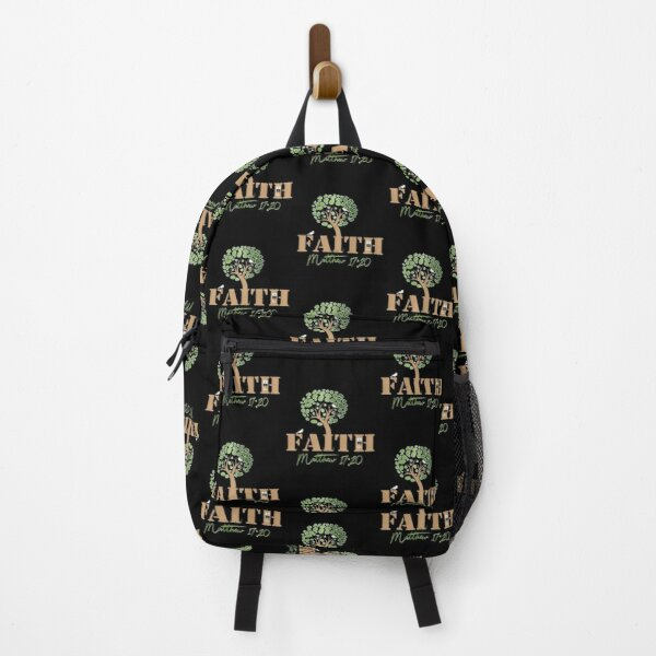 Faith of a Mustard Seed Backpack