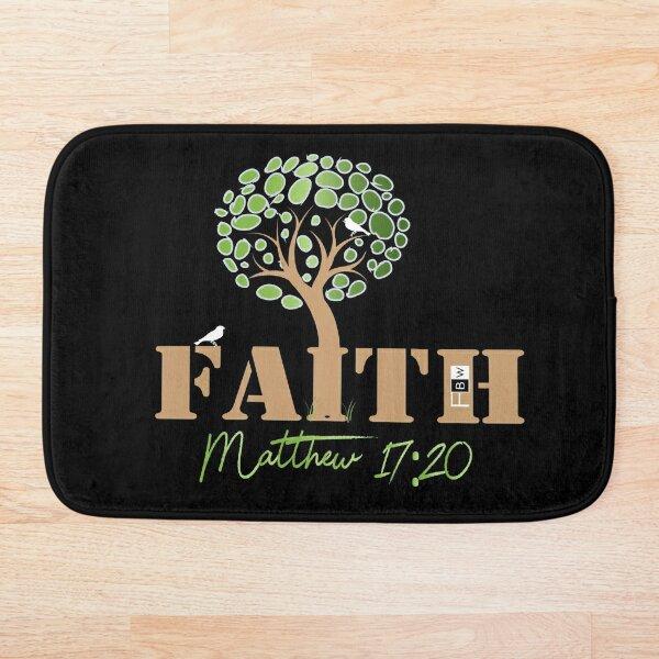 Faith of a Mustard Seed Bath Mat