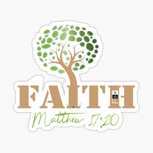 Faith of a Mustard Seed Sticker
