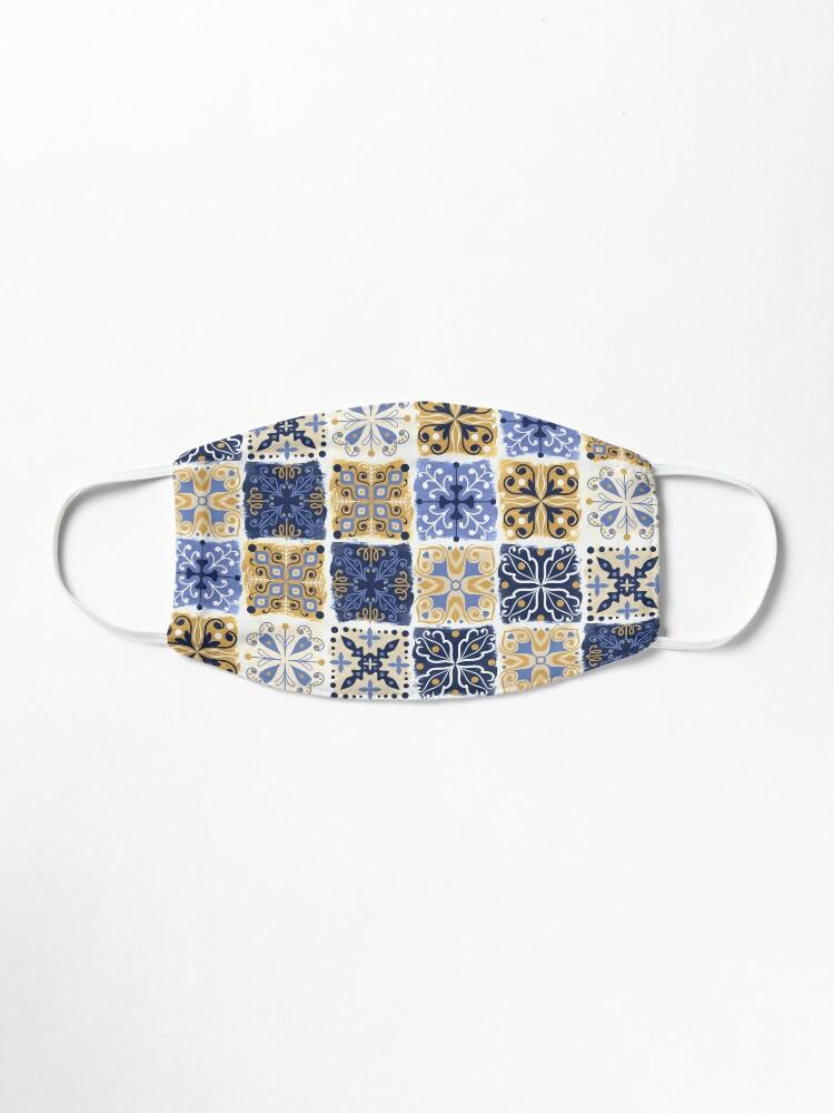 Alternate view of Azulejo Mask