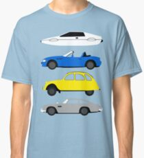 Camiseta clásica La estrella del coche: James Bond
