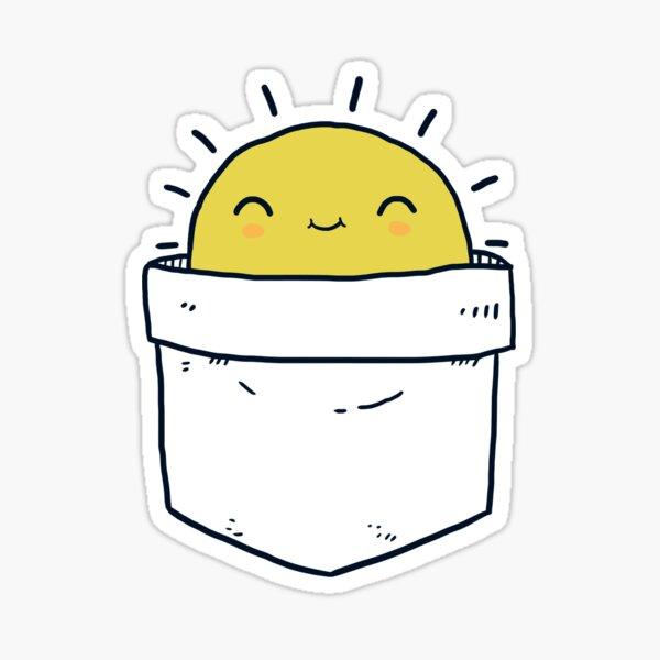 My Pocket Sun Sticker
