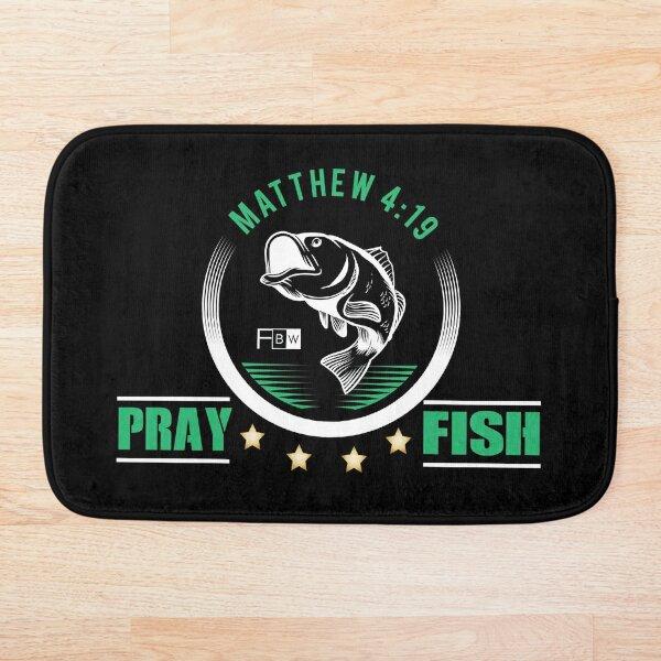 Pray Fish Bath Mat