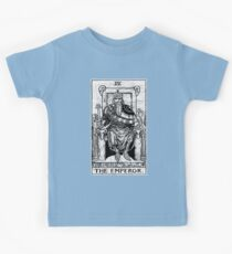 The Emperor Tarot Card - Major Arcana - fortune telling - occult Kids Tee
