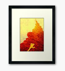 The forever climb ... Framed Print