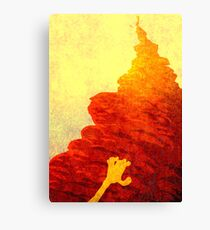 The forever climb ... Canvas Print