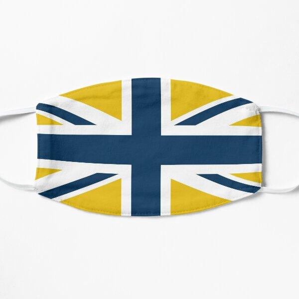 Yellow, Blue, White Leeds Flag Mask