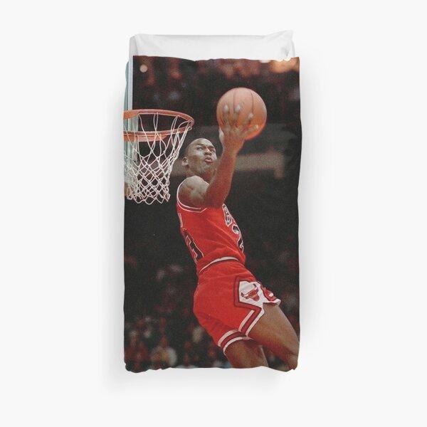 Fondo de pantalla Dunking Michael Jordan The Best Funda nórdica