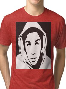 Trayvon Martin T-Shirt (Jamie Foxx As Seen On TV)  Tri-blend T-Shirt