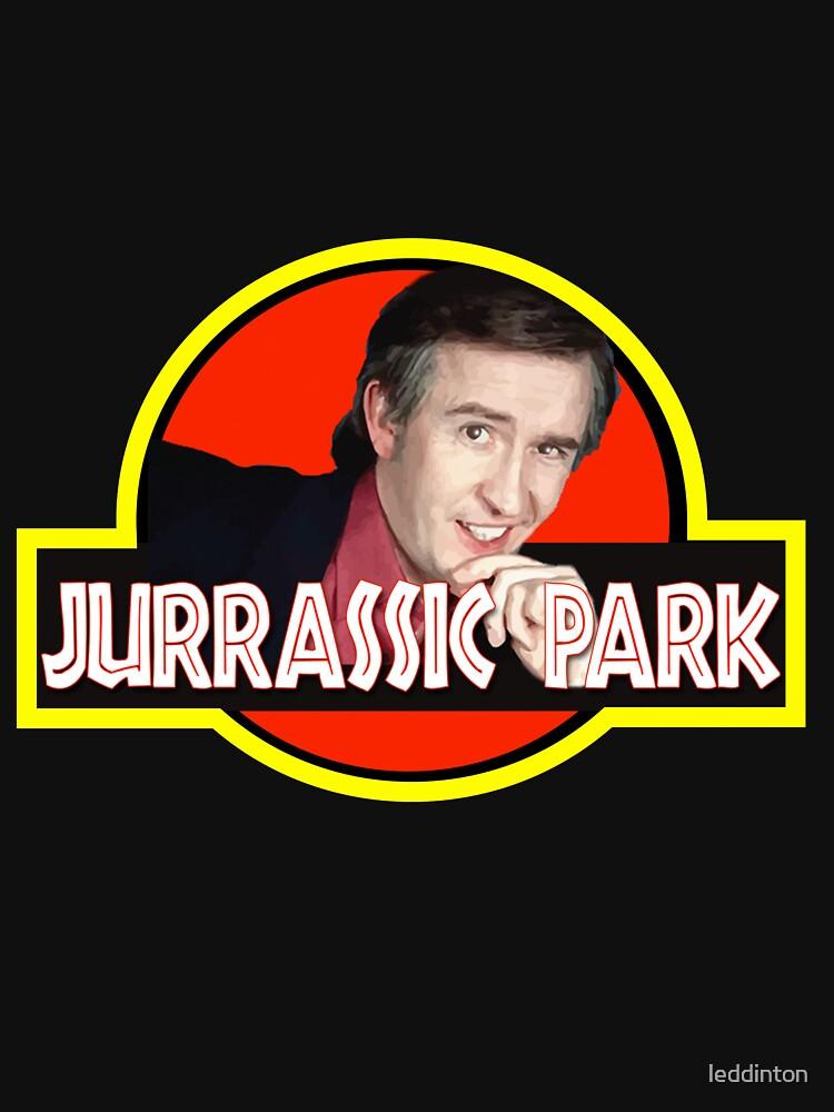 Alan Partridge jurassic park t shirt | Unisex T-Shirt
