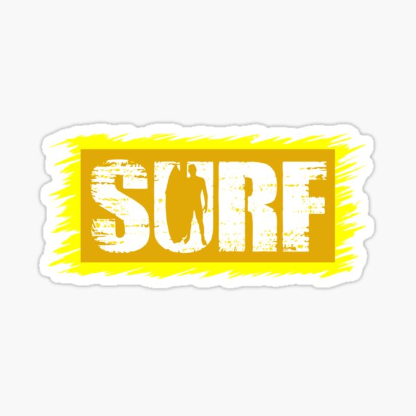 Surfers Sticker