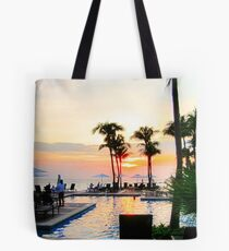 Sunset in Curacao Tote Bag