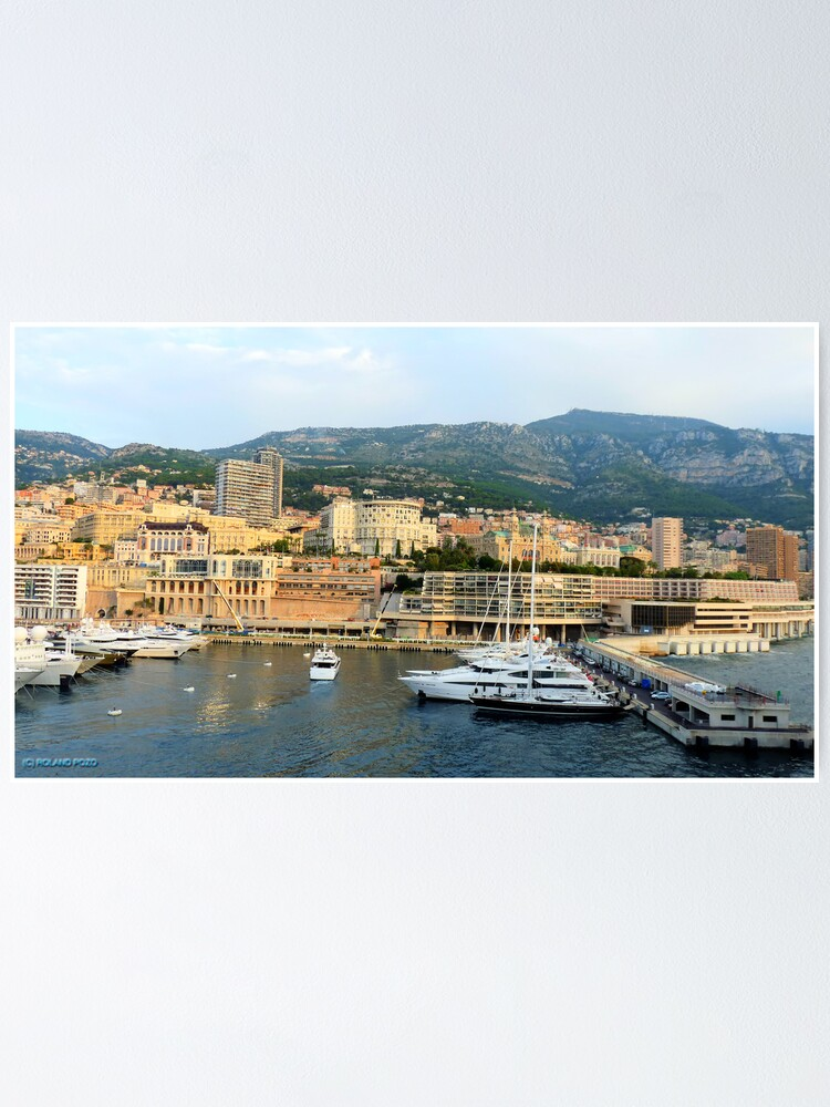 Alternate view of Morning in Monte Carlo Poster
