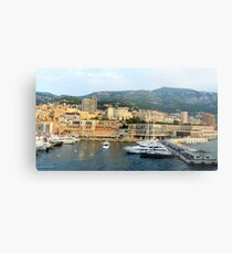 Morning in Monte Carlo Metal Print