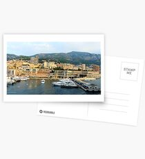 Morning in Monte Carlo Postcards