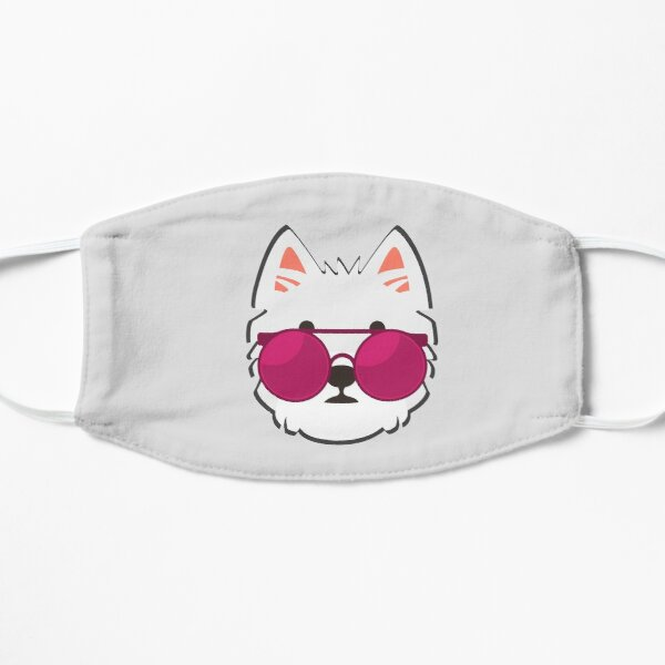 Westie Face With Sunglasses Mask