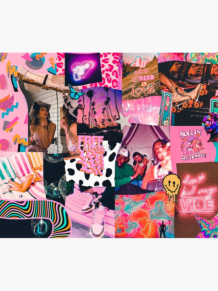 trippy baby collage by alexnoellejones