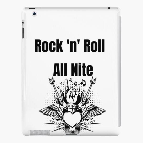 Rock 'n' Roll All Nite iPad Snap Case