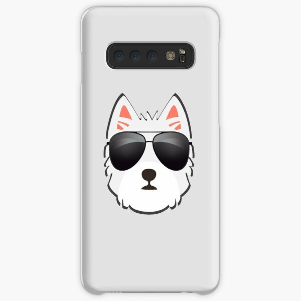 Westie Face With Sunglasses Samsung Galaxy Snap Case