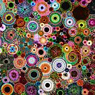Dark Dreams- Spirograph Art by RachelEDesigns