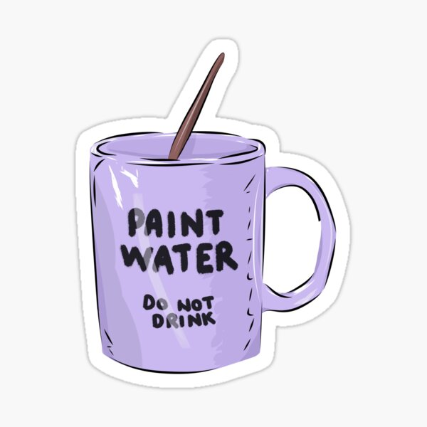 Paint Water Sticker