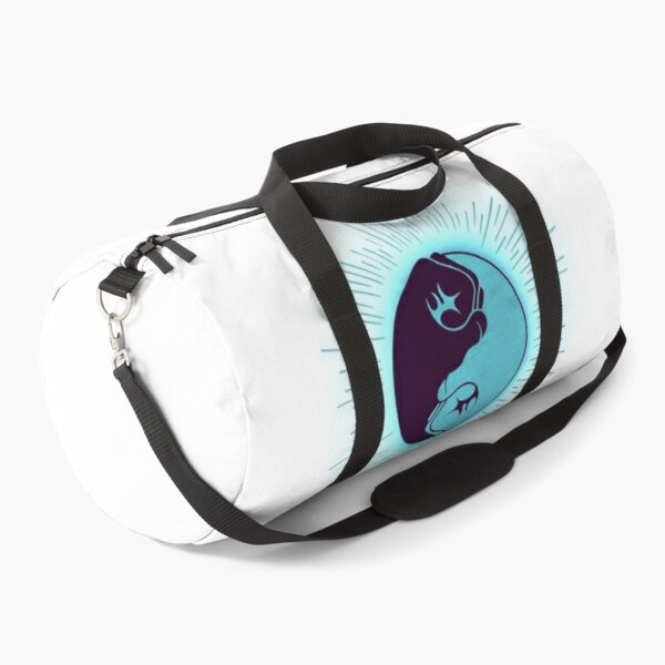 fists martial arts yin yang symbol, kung fu, karate, MMA, kickboxing Duffle Bag