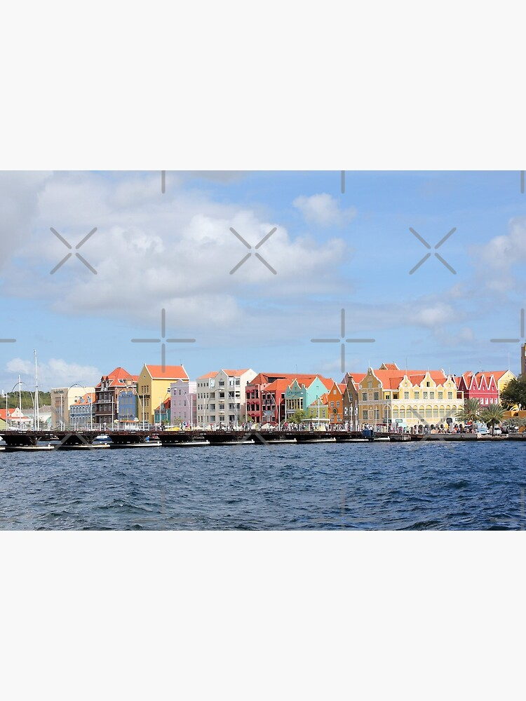 Colorful Houses of Willemstad, Curacao by stine1