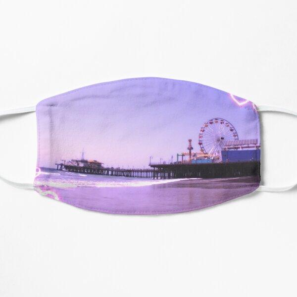 Santa Monica Pier Purple Hearts Mask