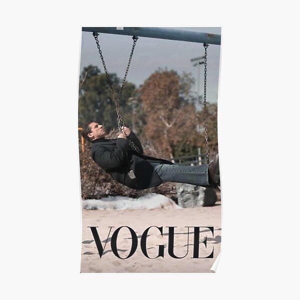 Michael Scott, Vogue, The Office, Vogue Challenge Poster
