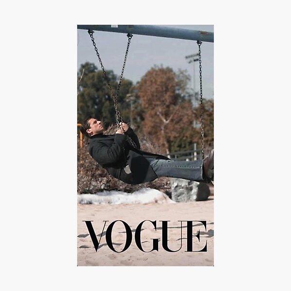 Michael Scott, Vogue, The Office, Vogue Challenge Photographic Print